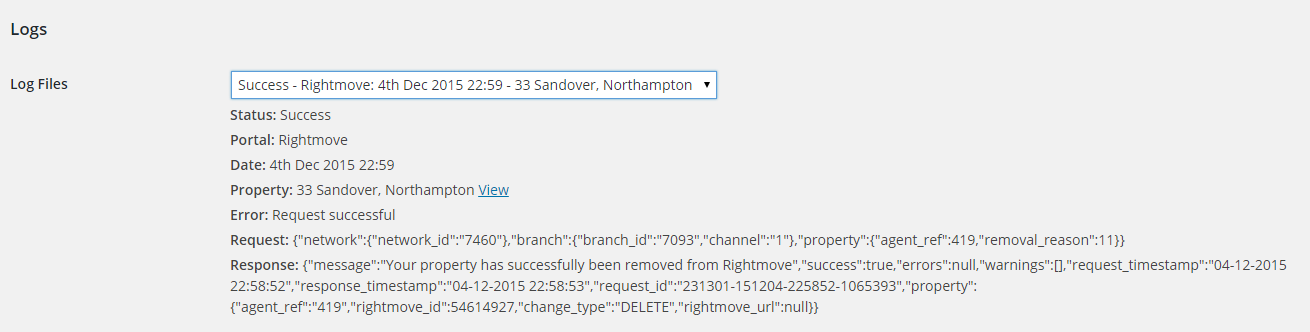 WordPress Rightmove Real-Time DataFeed (RTDF) | Property Hive