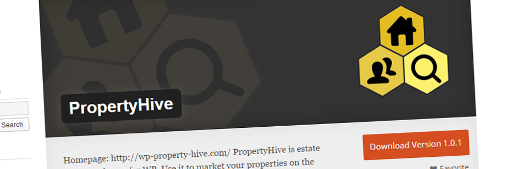 PropertyHive Is Released On The WordPress Plugin Repository