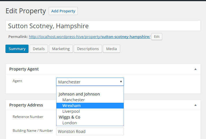 property-portal-add-on-property-assign-agent