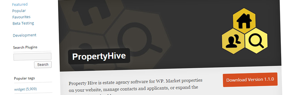 Property Hive 1.1.0 Released