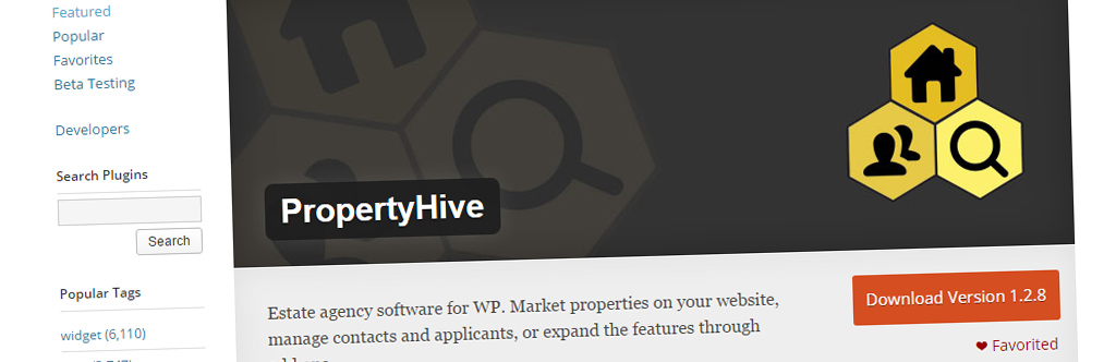 Property Hive 1.2.8 Released