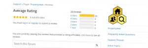 Five Star WordPress Plugin Reviews