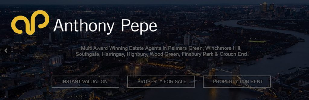 Anthony Pepe Estate Agents Launch New Site Using Property Hive