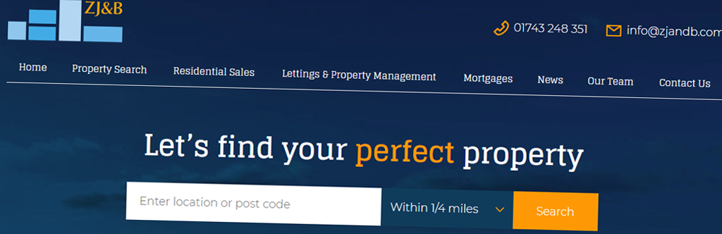 Zaza Johnson & Bath Launch New Website Using Property Hive