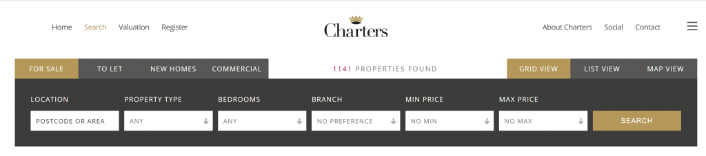 Case Study: Charters Estate Agents