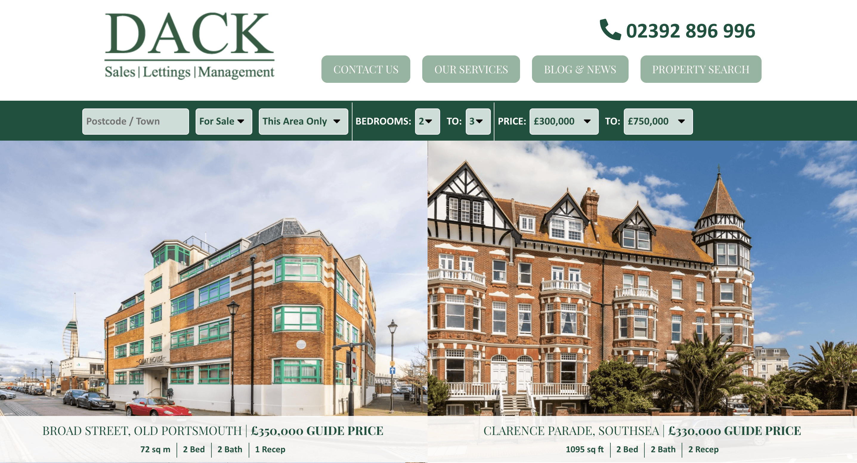 Dack Property Management Property Search