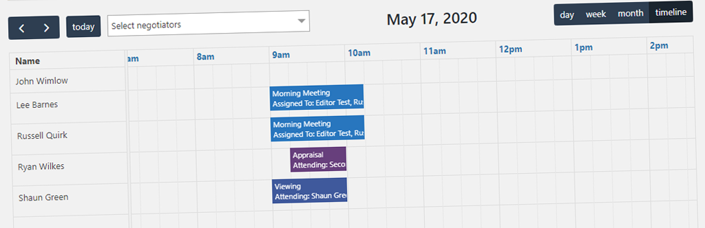 Timeline View Added To Our Calendar Add On