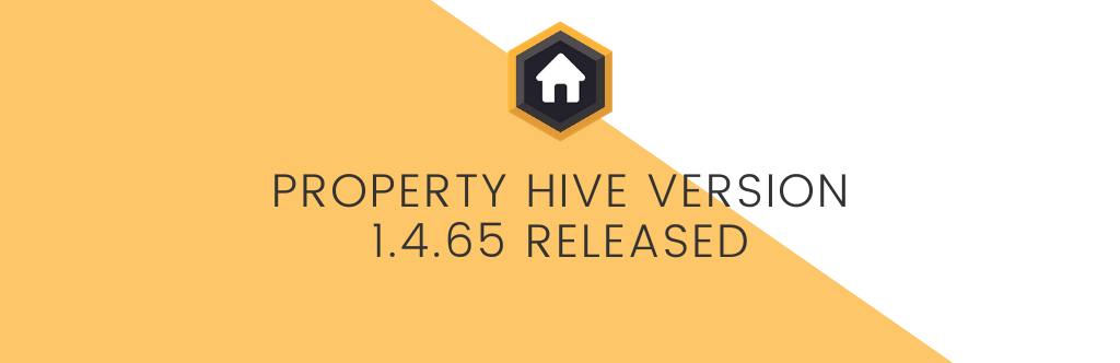 Property Hive Version 1.4.65 Released