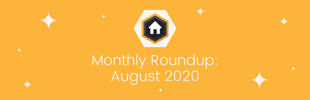 Monthly Roundup: August 2020