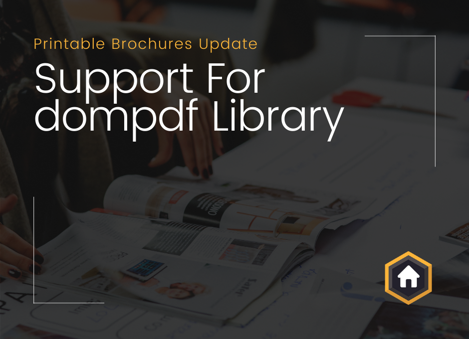 Printable Brochures Add On Update: Support For dompdf Library