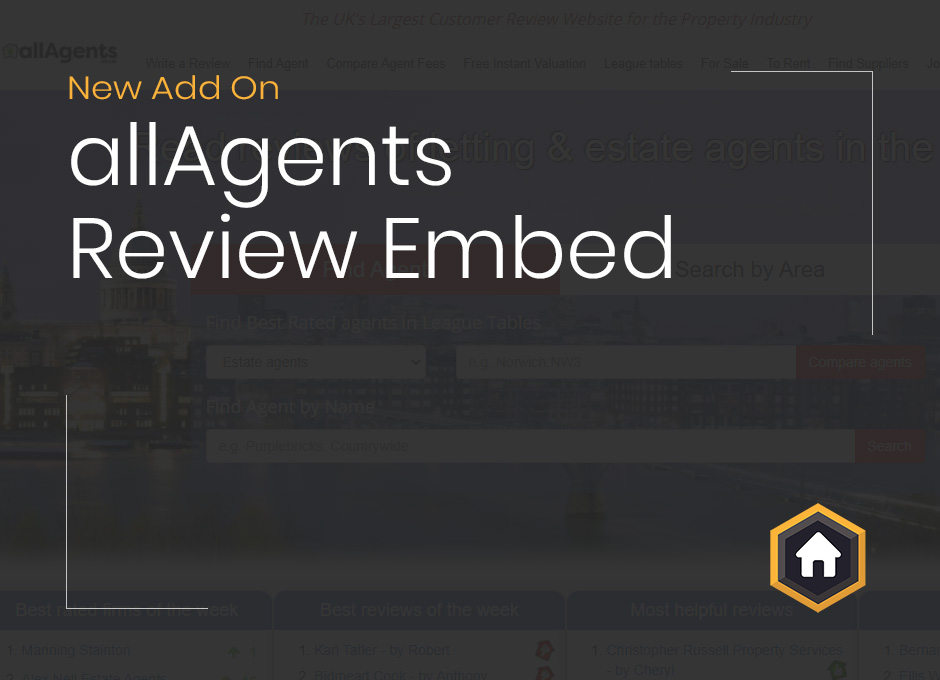 New Free Add On: Embed allAgents Reviews Onto Your WordPress Website