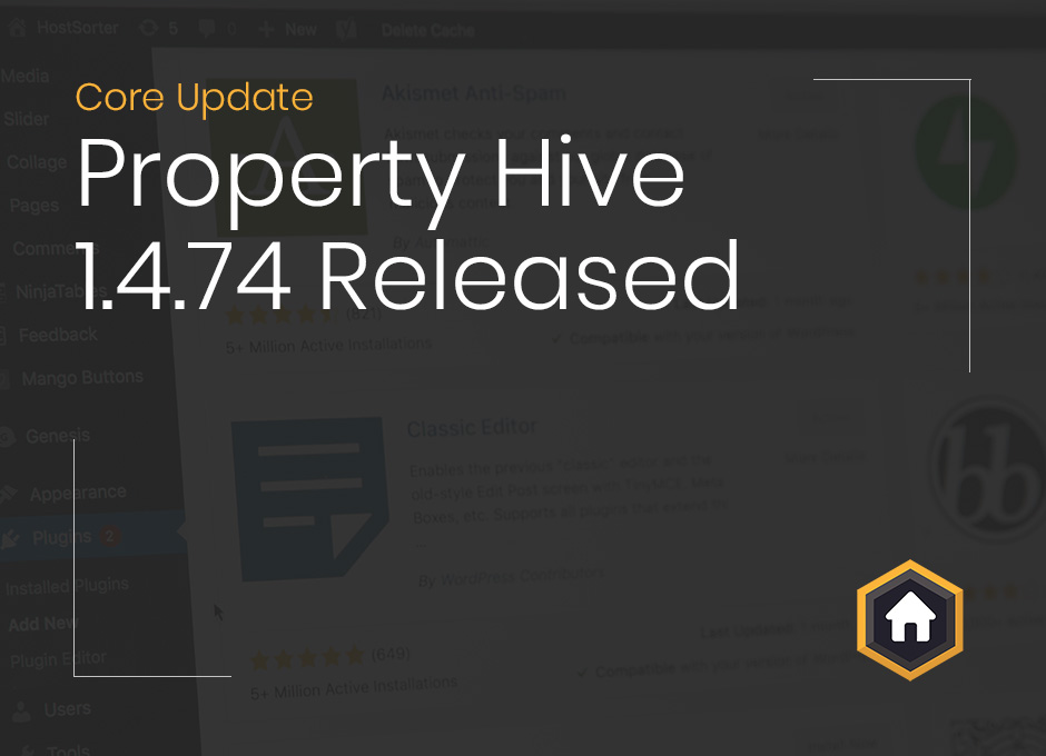 Property Hive Version 1.4.74 Released