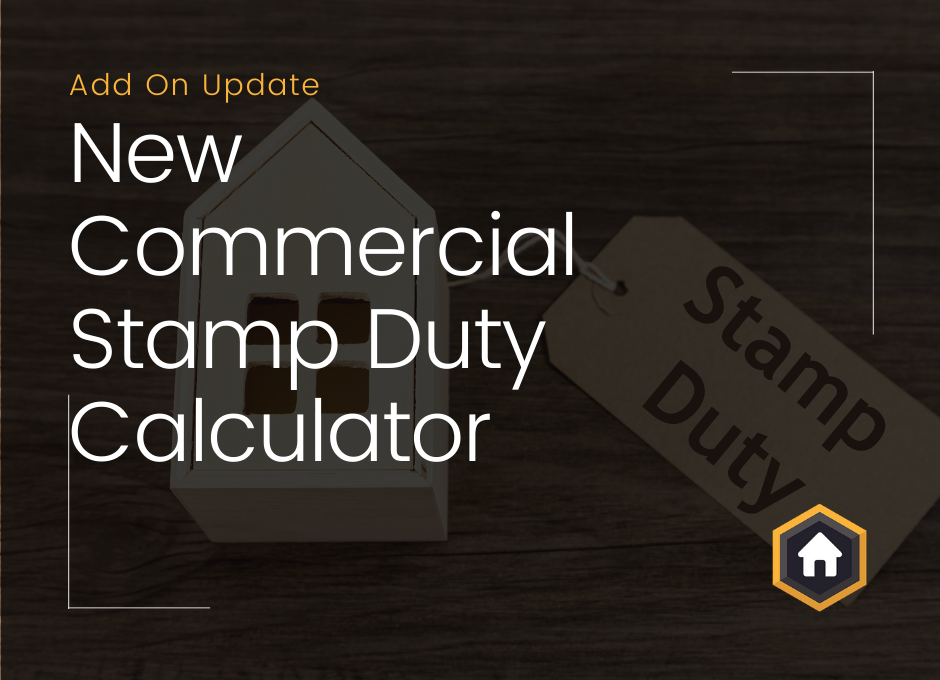 Stamp Duty Calculator Add On Now Supports Commercial Rates