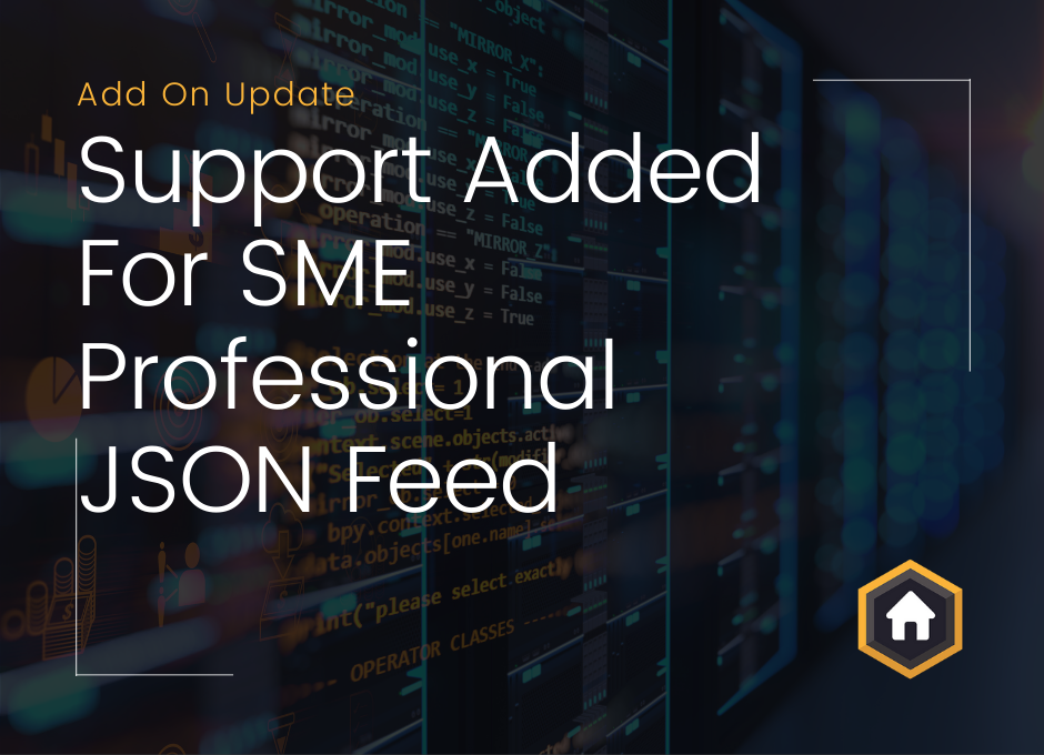 Support Added For SME Professional JSON Feed To Property Import Add On