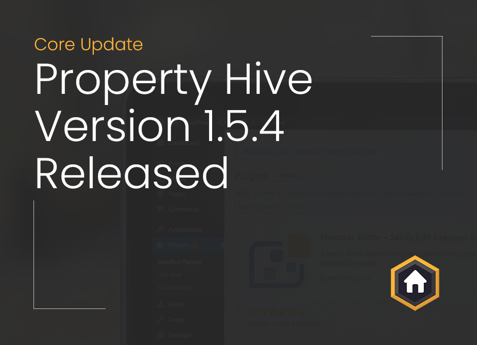 Property Hive 1.5.4 Released