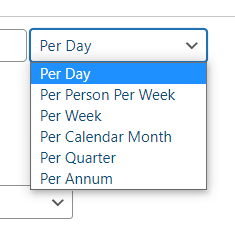 Per Day Rent Frequency